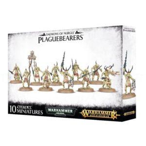 Миниатюры Warhammer Plaguebearers of Nurgle