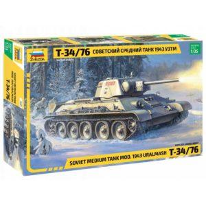 Модель Танка Т 34 76 1943 УЗТМ
