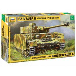 Модель немецкого танка Pz 4 Ausf G