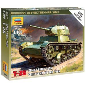 Модель танка Т 26 1939 1 100