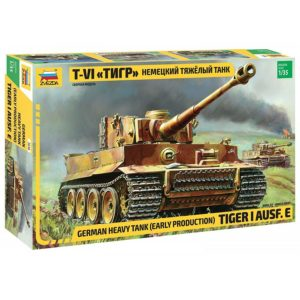 Модель танка тигр 1 35