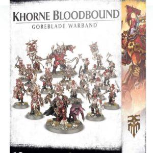 Миниатюры Age of Sigmar Khorne Bloodbound Goreblade Warband
