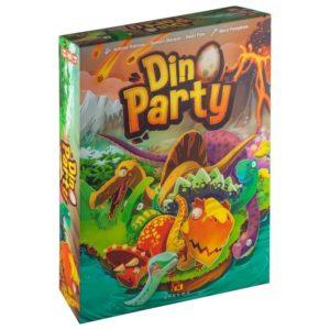 Dino party настольная игра