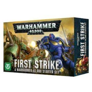 Warhammer 40000 Стартер First Strike на английском