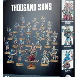 Миниатюры Warhammer 40000 Thousand Sons