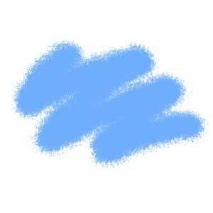 Краска голубая авиа 23 АКР