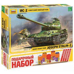 Подарочный набор танк ИС 2