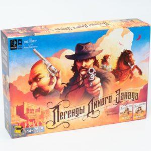 Легенды Дикого Запада настольная игра