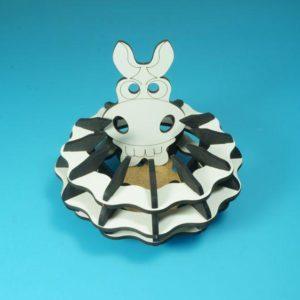 Коробочка для перемешивания кубиков Зебра