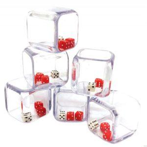 Кубик Инсайд 3 шестигранные кубика