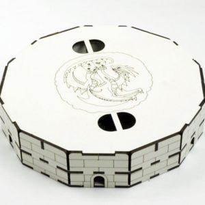 Тарелка для бросания кубиков Дракон