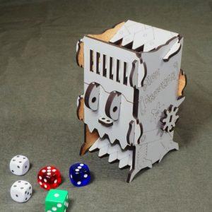 Башня для бросания кубиков Dice Crusher серый