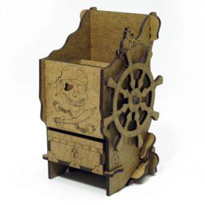 Башня для бросания кубиков Пиратская