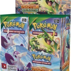 Pokemon бустер издания XY6 Грохочущие Небеса