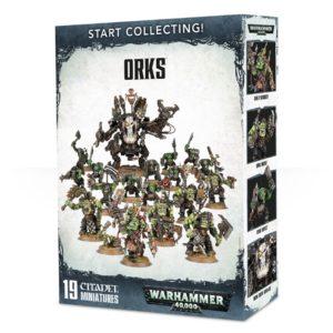Warhammer 40000 Start Collecting Orks