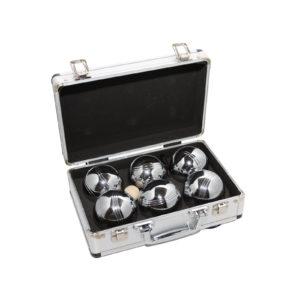 Петанк 6 шаров в алюминиевом кейсе