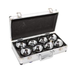 Петанк 8 шаров в алюминиевом кейсе