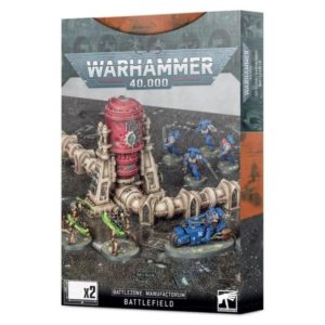 Warhammer 40000 Battlezone Manufactorum Battlefield