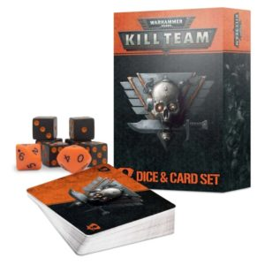 Warhammer 40000 Kill Team Dice and Card Set