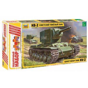 Модель танка КВ 2 1 35 Подарочный набор