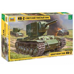Модель танка КВ 2 1 35