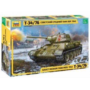 Модель танка Т 34 76 1 35 обр 1942