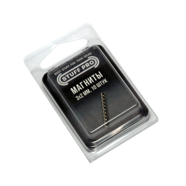 STUFF PRO Магниты для миниатюр 10 штук 3х2 мм