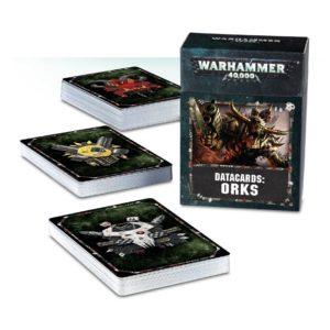 Warhammer 40000 Datacards Orks