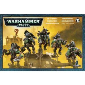 Warhammer 40000 Orc Stormboyz