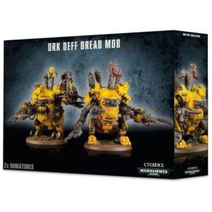 Warhammer 40000 Ork Deff Dread Mob