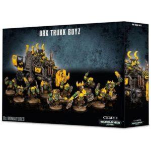 Warhammer 40000 Ork Trukk Boyz