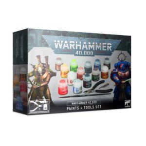 Warhammer 40000 Paints Tools set