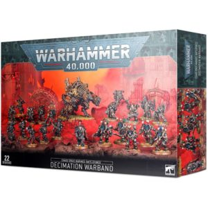 Chaos Space Marines Decimation Warband