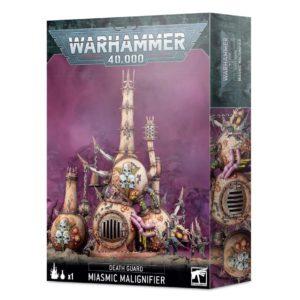 Warhammer 40000. Death Guard. Miasmic Malignifier