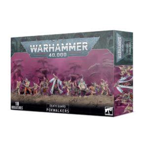 Warhammer 40000. Death Guard. Poxwalkers