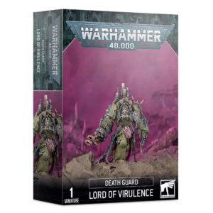 Warhammer 40000. Death Guard. Lord of Virulence