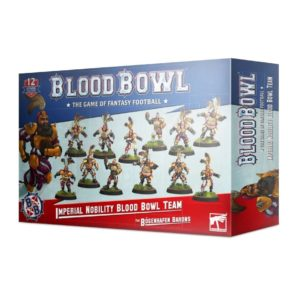 Blood Bowl. Imperial Nobility Team. The Bogenhafen Barons