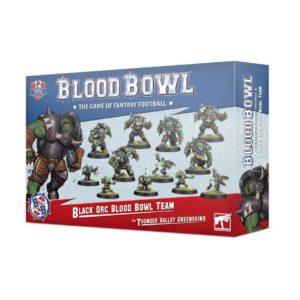 Blood Bowl. Black Orc Team. The Thunder Valley Greenskins