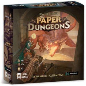 Бумажные подземелья настольная игра
